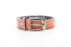 Beautiful leather belt Stock Images
