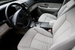 Beautiful leather interior Stock Image