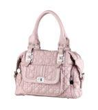 beautiful leather lady handbag Royalty Free Stock Image