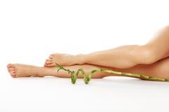 Beautiful leg of young woman Stock Photo