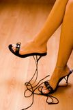 Beautiful legs Stock Image