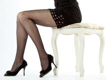 Beautiful legs of young woman Royalty Free Stock Photo