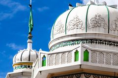 Beautiful Leh Mosque in old city Leh  Stock Image