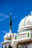 Beautiful Leh Mosque in old city Leh  Royalty Free Stock Images