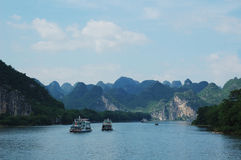 Beautiful Li River Royalty Free Stock Photo