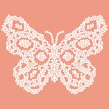 Beautiful, light, airy butterfly mosaic. Royalty Free Stock Photos