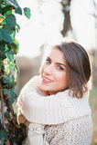 Beautiful light in autumn season Stock Photography