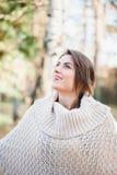 Beautiful light in autumn season Stock Images
