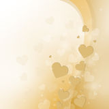 Beautiful light background to the Valentine's day Royalty Free Stock Photography