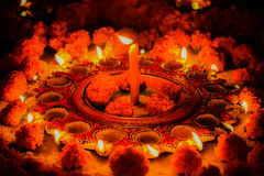 A beautiful  light decoration Royalty Free Stock Image