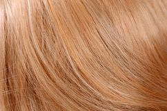 Beautiful light hair as a background Royalty Free Stock Image