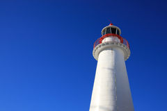 Beautiful Light House. With blue sky background Stock Photography