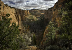 Beautiful Light in Navajo Canyon, Arizona Stock Photos