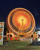 The beautiful light trails in a carnival Stock Photos