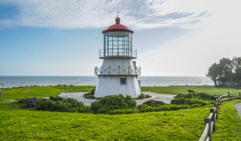 The beautiful lighthouse of Shelter Cove - SHELTER COVE - CALIFORNIA - APRIL 17, 2017 Stock Photos