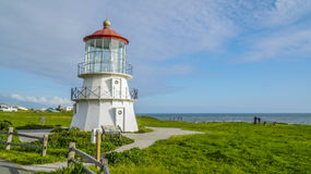 The beautiful lighthouse of Shelter Cove - SHELTER COVE - CALIFORNIA - APRIL 17, 2017 Royalty Free Stock Photo