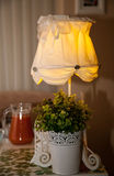 Beautiful lighting fitting on a table Stock Photos