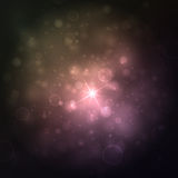 Beautiful lights background with many brightness. Bright abstract blurred lights vector background. Stock Image