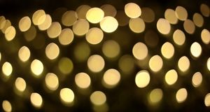 lights of bokeh royalty free stock images