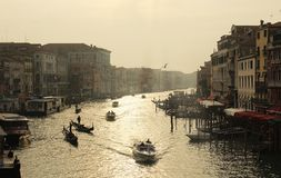 Venice. The beautiful lights Royalty Free Stock Photos