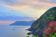 Beautiful Ligurian scenery Stock Photos
