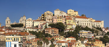The beautiful Ligurian town of Porto Maurizio,Imperia, Italy Royalty Free Stock Images