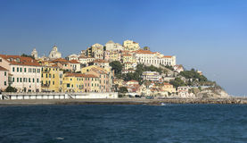 The beautiful Ligurian town of Porto Maurizio,Imperia, Italy Stock Photography