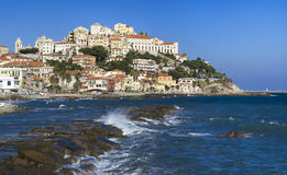 The beautiful Ligurian town of Porto Maurizio,Imperia, Italy Royalty Free Stock Photography