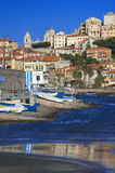 The beautiful Ligurian town of Porto Maurizio,Imperia, Italy Royalty Free Stock Photos