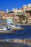 The beautiful Ligurian town of Porto Maurizio,Imperia, Italy. The beautiful Ligurian town of Porto Maurizio,Imperia during summer Royalty Free Stock Photos