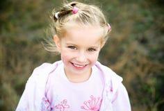 Beautiful liitle girl Stock Photos