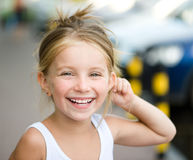 Beautiful liitle girl Royalty Free Stock Photography