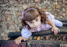 Beautiful liitle girl Stock Photography