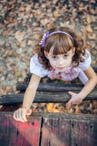 Beautiful liitle girl Royalty Free Stock Images