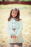 Beautiful liitle girl close-up Stock Photos