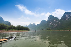 Beautiful lijiang river scenery Royalty Free Stock Photos