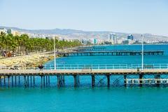 Beautiful Limassol town Royalty Free Stock Photography