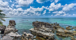 Beautiful limestone Vietnam Phu Quoc sea Royalty Free Stock Images