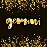 Beautiful line art filigree zodiac symbol. Black sign on vintage background. Elegant jewelry tattoo. Engraved horoscope symbol. Doodle mystic drawing with royalty free illustration