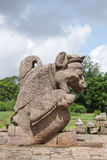 A beautiful lion sculpture, Sun temple Konark Stock Image