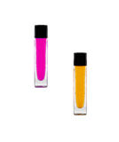 Beautiful lip glosses Stock Image