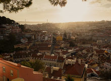 Beautiful Lissabon city Royalty Free Stock Photos