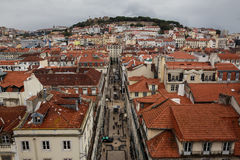 Beautiful Lissabon city Stock Photos