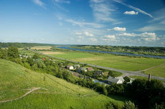 Beautiful Lithuanian Landscape at summer Stock Photo