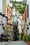 Beautiful little alley in Alicante, Spain Stock Photography