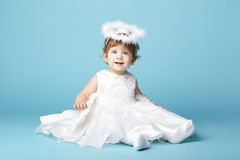 Beautiful little angel Stock Image
