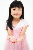 Asian little girl's portrait Royalty Free Stock Image