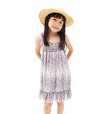 Happy little asian girl Stock Images