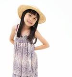 Happy little asian girl Stock Photos