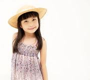Happy little asian girl Stock Photos